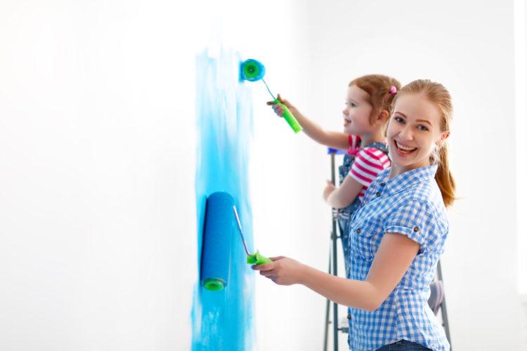 Was muss beim Ausmalen der eigenen vier Wände berücksichtigt werden?