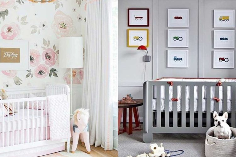 Wandgestaltung fürs Kinderzimmer